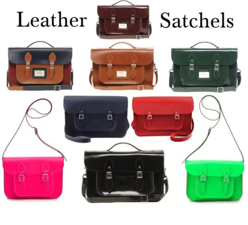 Luxe Leather Satchels