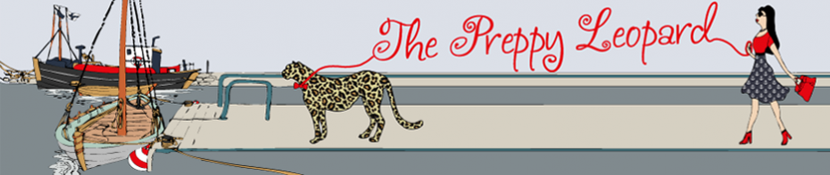 50843279e12d The Preppy Leopard | Classic preppy styling with a wild twist