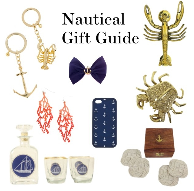 A Very Preppy Christmas Gift Guide — Nautical | The Preppy Leopard