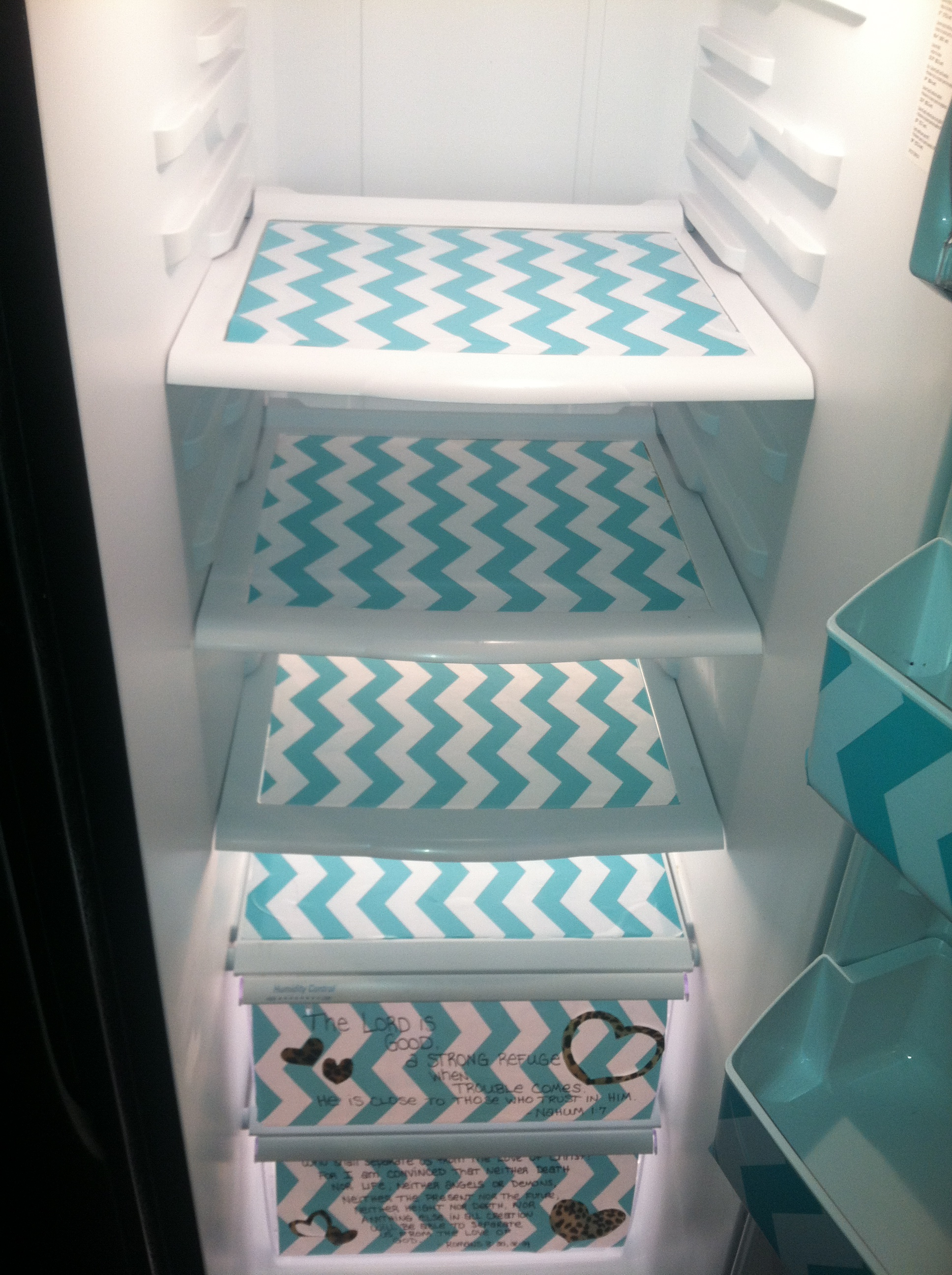 Preppy Fridge Makeover Easiest Diy Of Your Life The