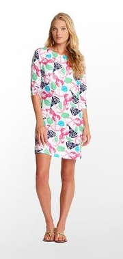 $98 Lilly Pulitzer Cassie Dress White Summer Classic Print XL 14 16  eBay - Goo_2013-03-08_10-44-30