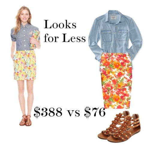 the preppy leopard looks for less 2