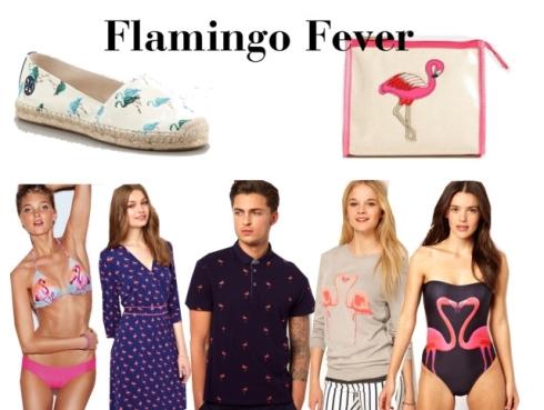 The Preppy Leopard - Flamingo Fever